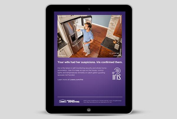 Iris Tablet Ad