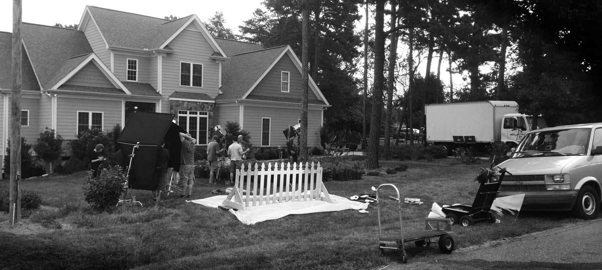Shooting crew of Phantom Flex shoot