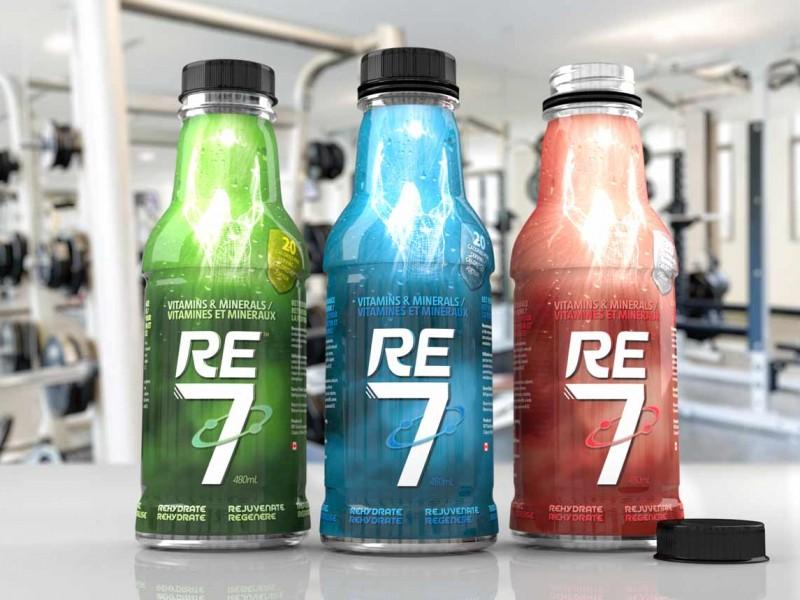 RE7 Gym 3D Render